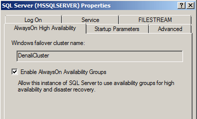 alwayson high availability