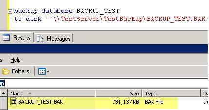 sql 2008 backup compression