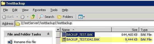sql backup compression