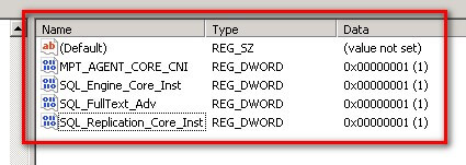 Modifying SQL Server registry keys