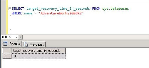 default value of TARGET_RECOVERY_TIME