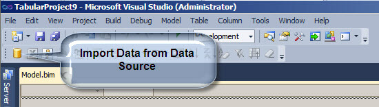 Import Data from Data Source