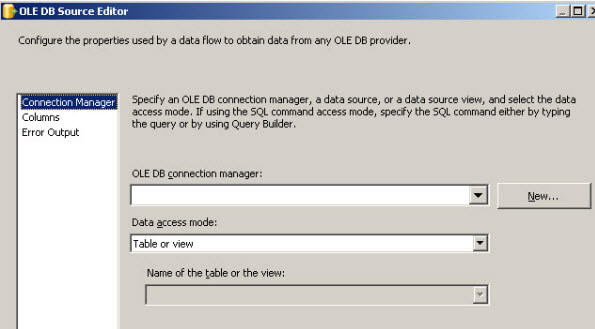 Simple step by step process to import MS Access data into