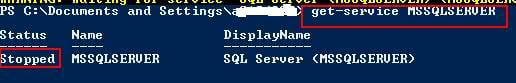 Check SQL Server Status after Instance Down