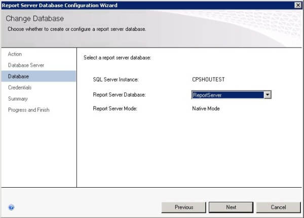 Reporting Services Configuration Manager
