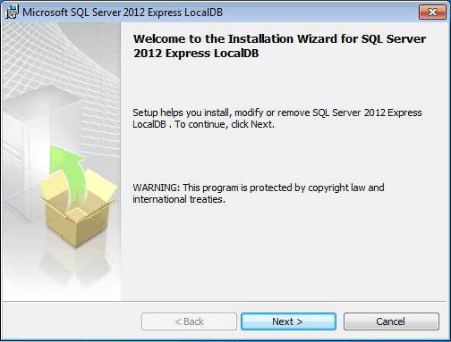 SQL Server 2012 introduces a new feature, SQL Express LocalDB