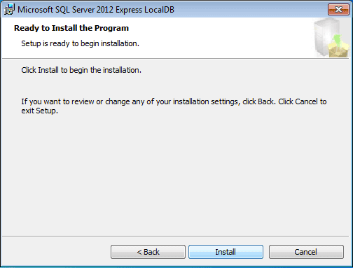 Getting Started With Sql Server 2012 Express Localdb