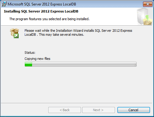 Microsoft SQL Server Express LocalDB 110 Download