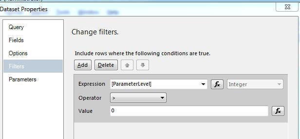 Dataset Filter
