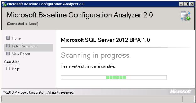 microsoft baseline configuration analyzer