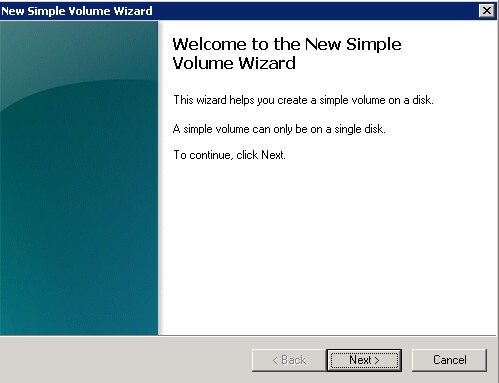 Welcome to the New Simple Volume Wizard