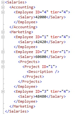 Replace Values Using XQuery Arithmetic