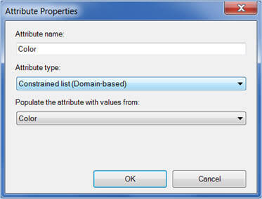 Attribute Properties for MDS in the Excel add-in