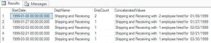 Using SQL Server Concatenation Efficiently