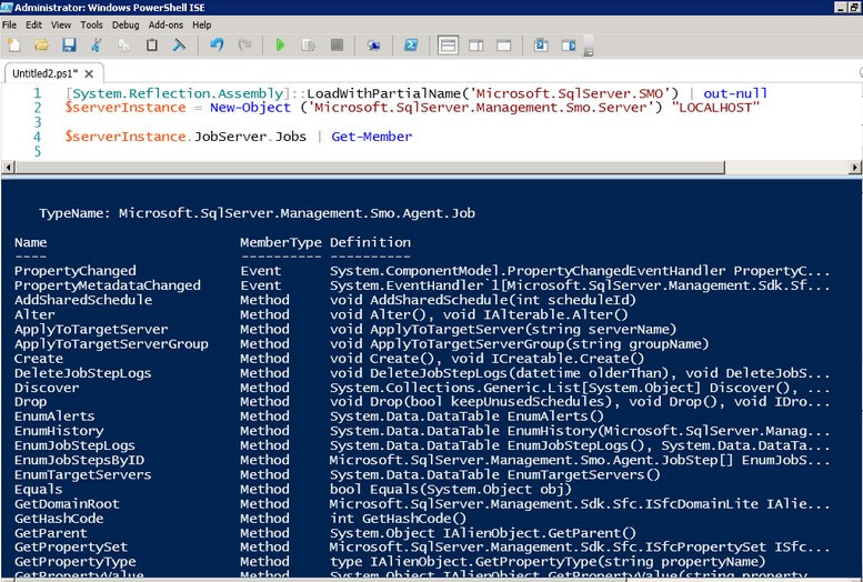 Disable or Enable SQL Server Agent Jobs Using PowerShell