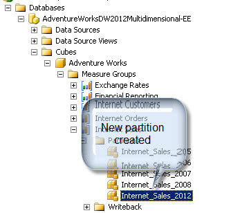 Open the SQL Server Management Studio