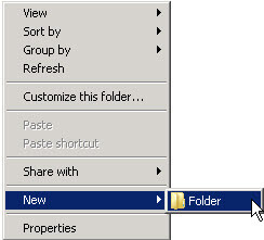 Windows Explorer - Create the exact directories