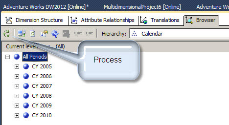 Process a SQL Server Analysis Services Dimension