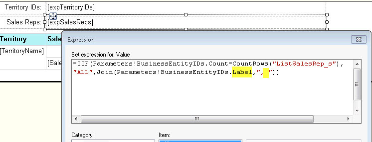 Working With Multi-Select Parameters for SSRS Reports