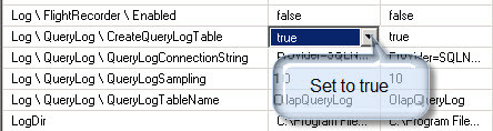 make sure that the option Log \ QueryLog \ CreateQueryLogTable is set to true