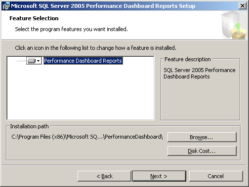 Installation Performance DashBoard