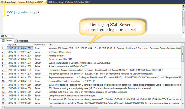 ... Is The Difference Between A View And A Stored Procedure In Sql Server: http://monacoglobal.com/default/20/what-is-the-difference-between-a-view-and-a-stored-procedure-in-sql-server