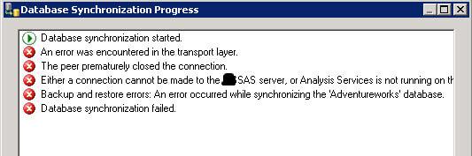 SSAS parts