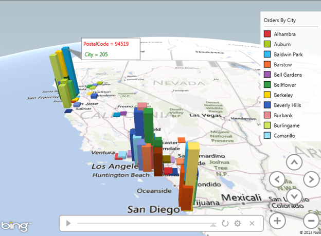 You can also add charts, annotations and textboxes to the maps to make it more presentable