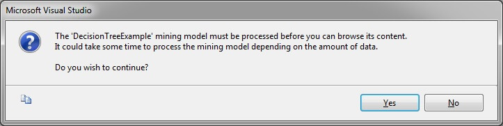 the user might be given a warning about the amount of time it could possibly take to process the model