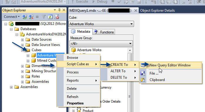 SQL Server 2012 Analysis Services XMLA