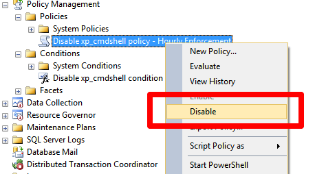 SQL Server 2008 and above - Policy Based Management