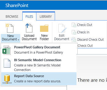 "create a ""PowerPivot Gallery Document"", ""BI Semantic Model Connection"" and ""Report Data Source"""