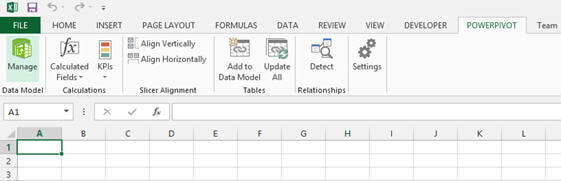 Creating Power View reports in Excel 2013