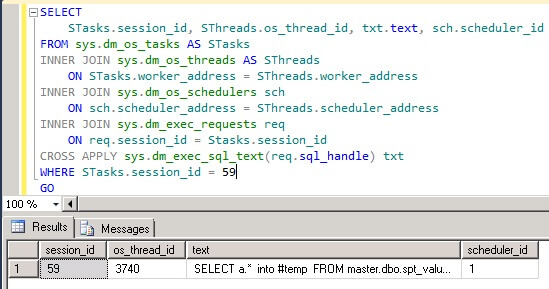 The workload in Step 1 is an intentional flaw introduced to execute the query in serial mode or single threaded