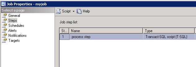 job step