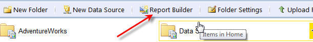 Report Builder button