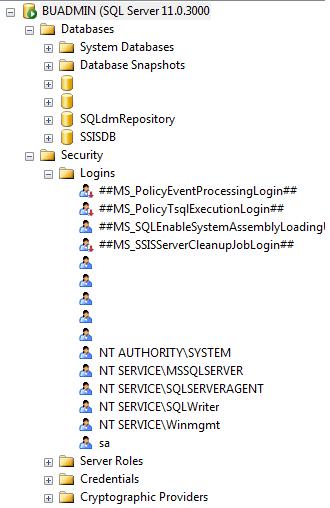 Once SQL Server comes back online, you should see all the databases, logins, jobs, etc. back to normal