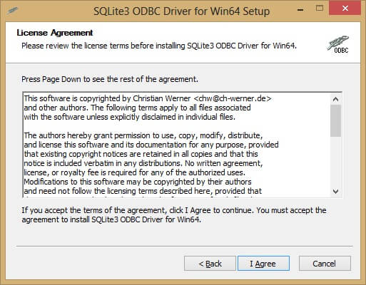 Configuring the correct driver is sometimes the most difficult part