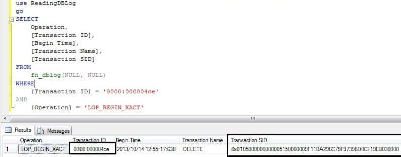 How to find user who ran DROP or DELETE statements on your SQL