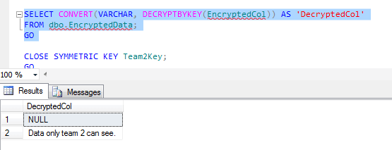 The data is encrypted using symmetric keys and those key are encrypted with passwords