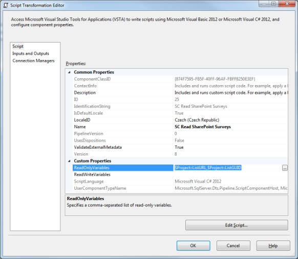 Reading SharePoint Surveys and Lists using a SQL Server