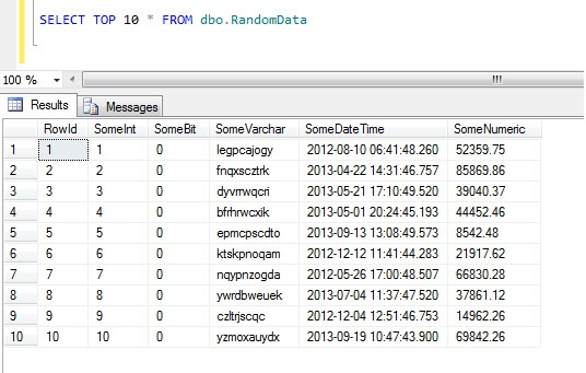 ORDER BY RANDOM: Data Sampling in SQL Server