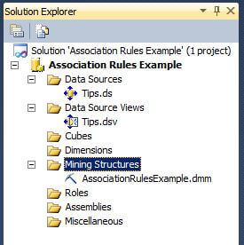 The Solution Explorer window should appear as shown