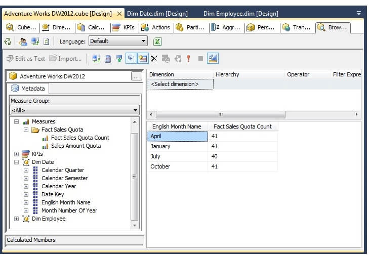 Changing Sort Options on Dimension Attributes in SQL Server Analysis Services