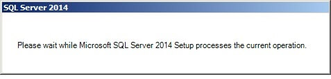 Quick Guide to Installing SQL Server 2014