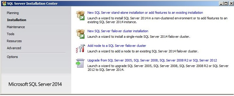 Upgrade from SQL Server 2005, SQL Server 2008, SQL Server 2008 R2 or SQL Server 2012