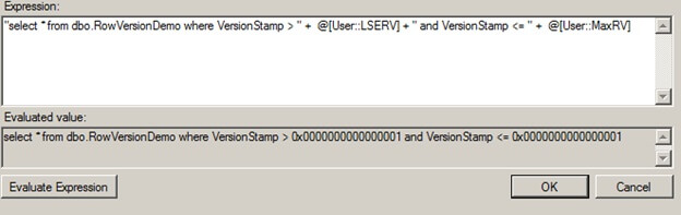 SQL Cmd Variable Expression