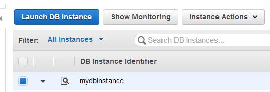 Enabling RDS monitoring
