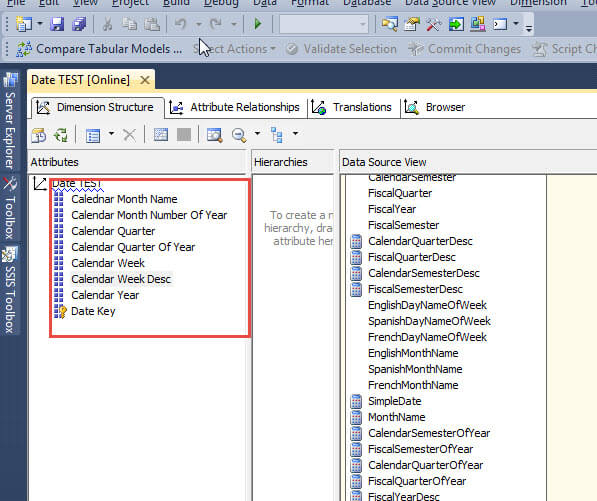 use of attribute relationship in ssas