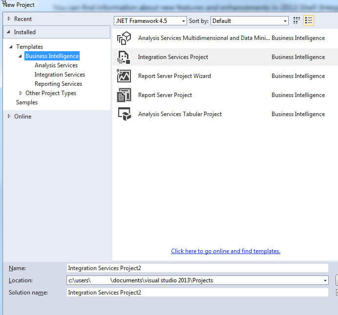 SQL Server Data Tools (SSDT) is Missing After Installing SQL Server 2014
